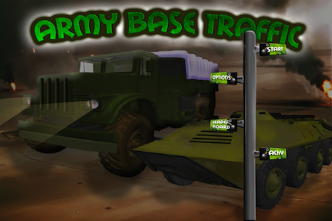 Screenshot Army Base Traffic Control